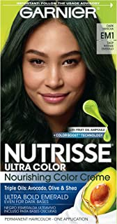 Garnier Hair Color Nutrisse Ultra Color Nourishing Hair Color Creme, Dark Matcha Em1, 1 Count