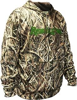 Remington Performance Camo Hoodie for Men - Choose Mossy Oak Bottomland Hoodie or Mossy Oak Shadow Grass Blades Camouflage Hoodie, (S, M, L, XL, XL, XXL, XXXL)