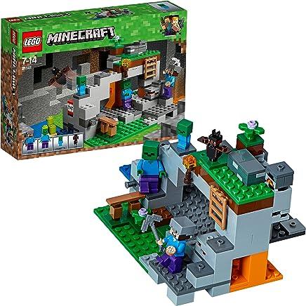 LEGO Minecraft 21141 - Zombiehöhle Beliebtes, Kinderspielzeug