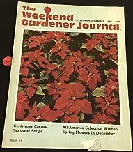 The Weekend Gardener Journal November/December 1986 (Vol.3, No.3)
