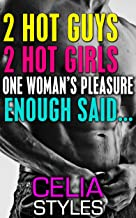 2 Hot Guys. 2 Hot Girls. One Woman's Pleasure - Enough Said: An MMF Romance (MMF, Menage, BBW, Gay, Bisexual, Threesome, New Adult Book 1)