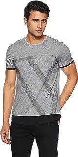 Van Heusen Athleisure Men's Printed Regular fit T-Shirt