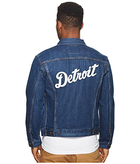 Tigers Denim Mens Detroit Trucker Levi's® qtESawCxx