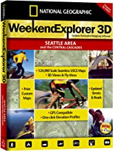 National Geographic TOPO! Weekend Explorer 3D Seattle Area/Central Cascades Map CD-ROM (Windows)
