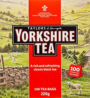 Yorkshire Tea Red, 100 x 220 gm