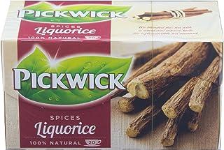 Pickwick Tee Zoethout Liquorice, Süßholz Lakritz, Lakritztee, 20 Teebeutel