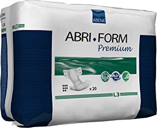 Abena Abri-Form L3 All-In-One Diaper, 20ct