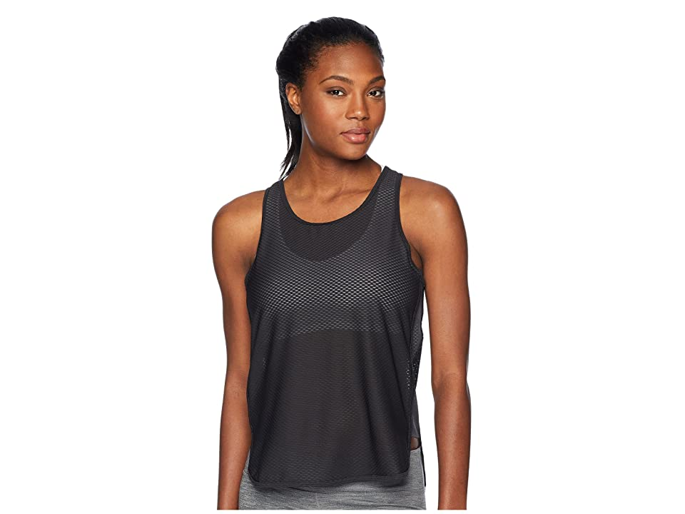 New Balance Determination Mesh Tank Top (Black) Women