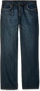 Buffalo David Bitton Boys King- X Slim Fit Boot Cut Denim with Stretch Jeans - Blue