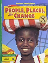 Holt People, Places, and Change: An Introduction to World Studies Florida: Student Edition Grades 6-8 Eastern Hemisphere 2005