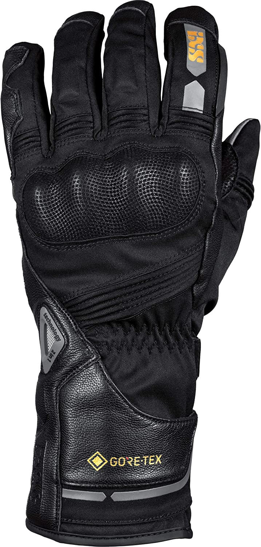 Ixs Motorradhandschuhe Lang Motorrad Handschuh Tour Handschuh Double Gtx 1 0 Herren Tourer Ganzjährig Leder Textil Bekleidung