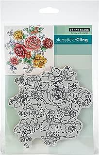 Penny Black 40-616 Floral Medley Cling Stamps, Multicolor