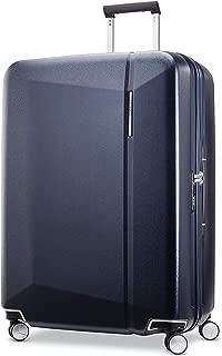 Samsonite 新秀丽 Etude 28英寸(约71.1厘米)硬壳格子行李箱 深蓝色 均码