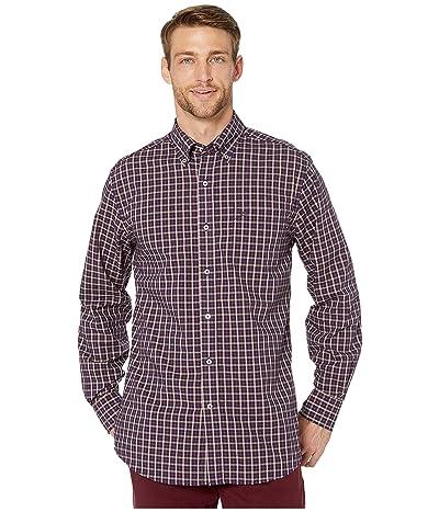 Southern Tide Shelter Deck Plaid Button Down Shirt (Royal Purple) Men