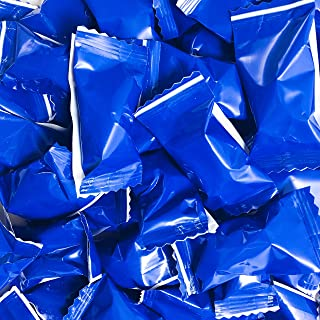 Buttermints - 13 oz. Bag - Approximately 100 Individually Wrapped Mints (Blue)