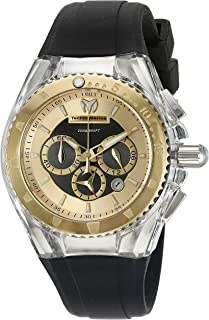 Technomarine Women's TM-115173 Cruise Pearl Analog Display Quartz Black Watch