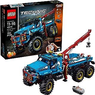 LEGO Technic 6x6 All Terrain Tow Truck 42070 Building Kit (1862 Pieces)