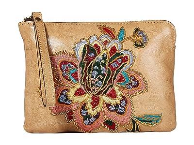 Patricia Nash Cassini Wristlet (Sand/Multi) Wristlet Handbags