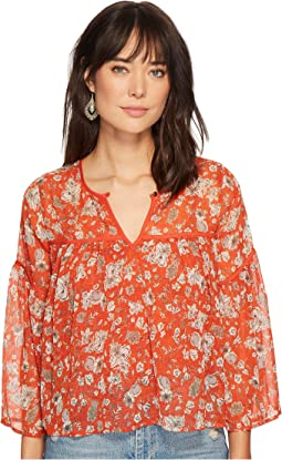 Lucky Brand - Bell Sleeve Top
