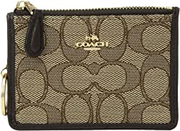 COACH Signature Mini Id Skinny