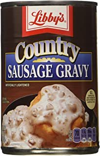 Libbys Country Sausage Gravy (15 oz Cans) 3 Pack