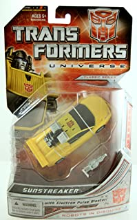 Transformers Universe Deluxe Class Classic Series Action Figure - Autobot Sunstreaker with Electron Pulse Blaster