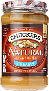 Smucker's Natural Creamy Peanut Butter, 26 oz