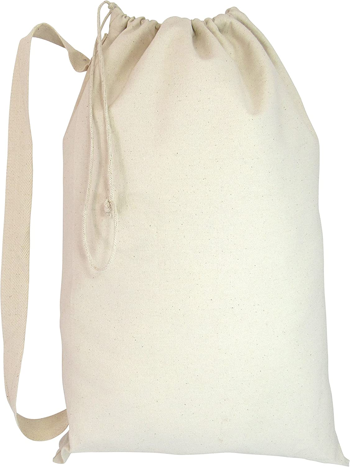 Heavy Duty 訳あり品送料無料 Natural Cotton Canvas 安売り Laundry Bags