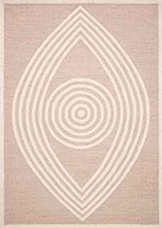 Now House by Jonathan Adler Wink Collection Area Rug, 5' x 7', Blush