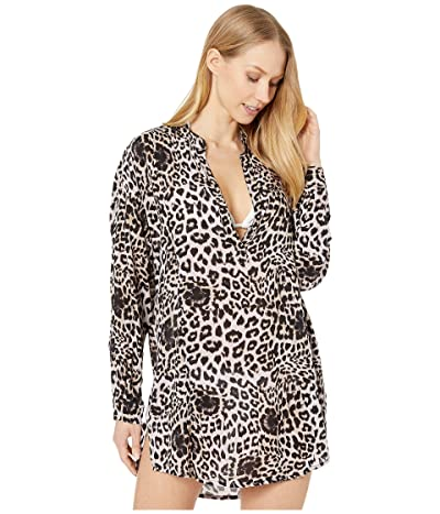 MIKOH SWIMWEAR Cannes Cover-Up (Leopard) Women