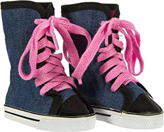Springfield Collection by Fibre-Craft 18 Inch Doll Footwear,  High Tops