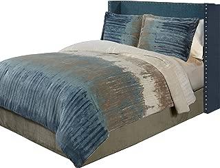 Fraiche Maison Bentley Velvet Plush Print Comforter Set, King
