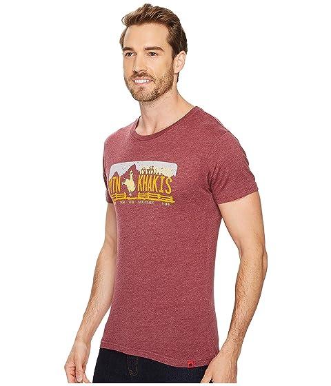 Shirt T Bison Rodeo Khakis Mountain BxqfUwR4