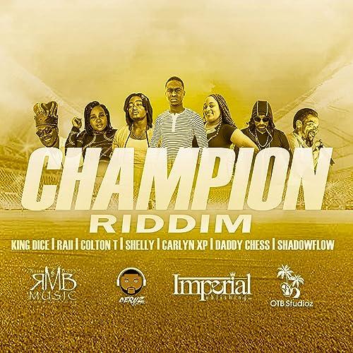 Champion Riddim (Instrumental) by R B M on Amazon Music