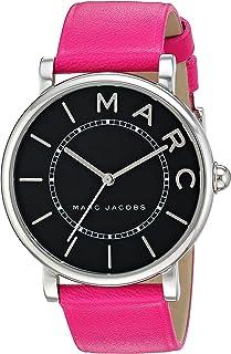 ساعة كاجوال انالوج بسوار جلدي للنساء من مارك جايكوبز - طراز MJ1535