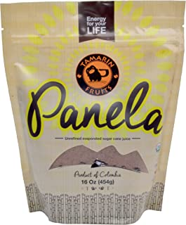 Panela - Unrefined Evaporated Sugar Cane, 1 pound (1 pound)