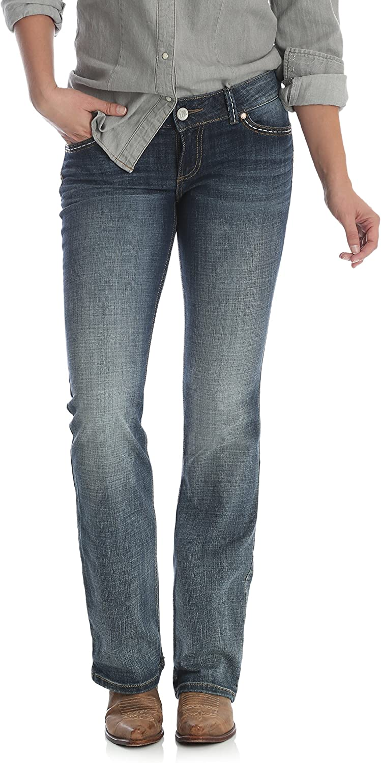 Wrangler Women's Retro Sadie Low Selling and selling Boot Max 89% OFF Stretch Rise Cut Jean