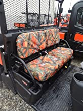 Durafit Seat Covers Kubota RTV X900, RTV X1100, RTV X1120D and 1140 Fronts New Models Orange Camo Seat Covers