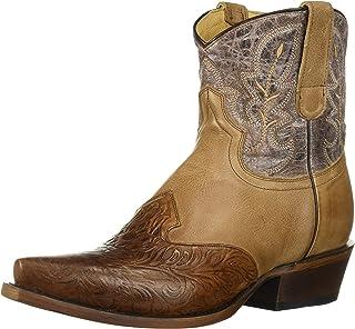 حذاء برقبة حريمي من Roper Steppin Out Western باللون البني 1، مقاس 10 D US