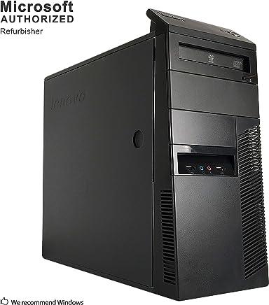 2018 Lenovo ThinkCentre M91p Tower Desktop Computer(Intel Core I5 2400 3.1 GHz, 8G