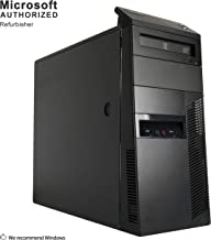 2018 Lenovo ThinkCentre M91p Tower Desktop Computer(Intel Core I5 2400 3.1 GHz, 8G DDR3 RAM, 120G SSD+3TB, DVD, WIFI, Windows 10 Pro 64)(Renewed)