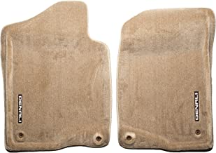 GM Accessories 19155780 Front Carpeted Floor Mats in Cashmere with Denali Logo