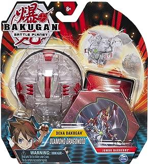 Bakugan Deka, Diamond Dragonoid, Jumbo Collectible Transforming Figure, for Ages 6 & Up