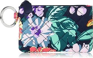 Vera Bradley Women's Cotton Zip Id Case Wallet