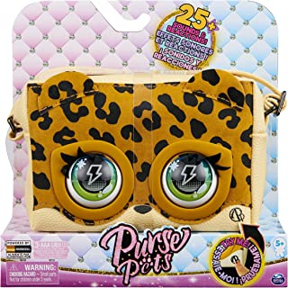 Purse Pets, Leoluxe Leopard Interactive Purse Pet with Over 25 Sounds and Reactions, Kids Toys for Girls Ages 5 and up
