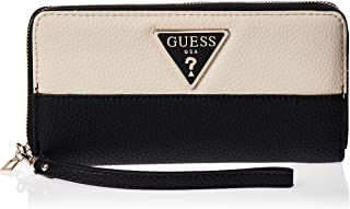 GUESS Womens Large Zip Around Purse, Stone Multi - SG743746