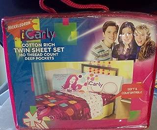 Nickelodeon iCarly LOL Cotton Rich Twin Sheet Set