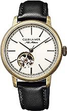 [シチズン] 腕時計 クラブ・ラ・メール 機械式腕時計 35th Anniversary Limited model 経年変化を愉しむ時計 シースルーバック BJ7-077-30 レディース ブラック
