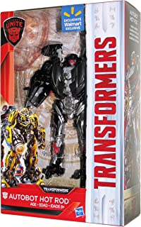 Transformers The Last Knight Walmart Exclusive Autobots Unite Deluxe Autobot Hot Rod
