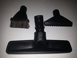 Hoover Canister 3 Piece Attachment Kit w/ Knob Style, Includes 1 Hoover Floor Brush, 1 Hoover Upholstery Tool, 1 Hoover Dusting Brush